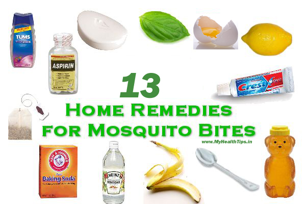 How To Get Rid Of Mosquito Bites By Applying Home Remedies