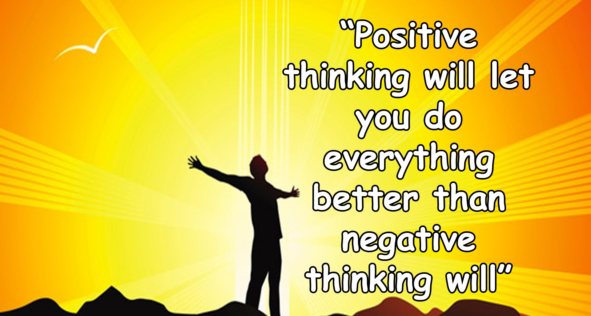 what is positive attitude pdf