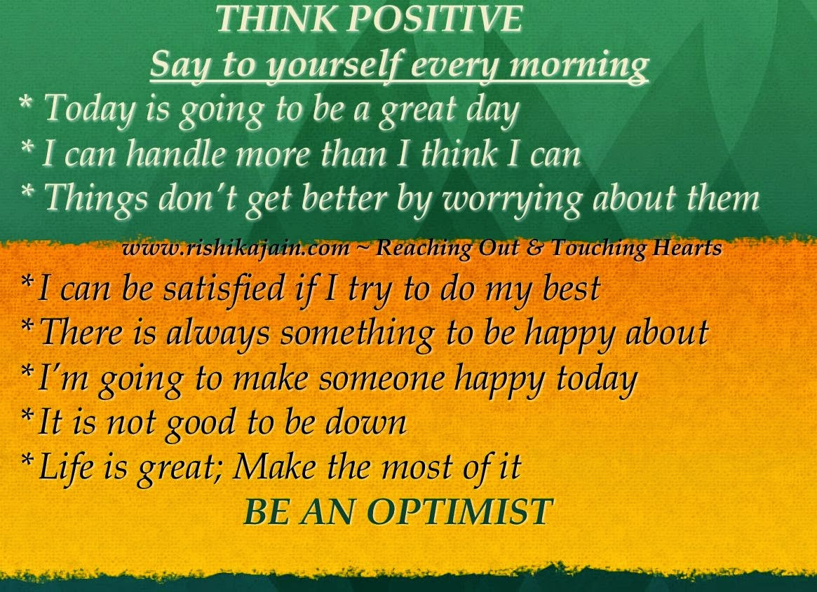 Power Of Positive Thinking Quotes Power Of Positive Thinking