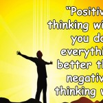 Positive Thinking Techniques
